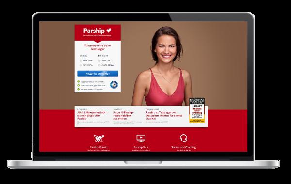 Parship Online-Partnervermittlung Test